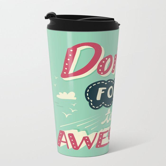 DFTBA Metal Travel Mug