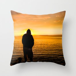 Longest Day Throw Pillow