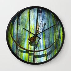 Circle Of Feed Wall Clock