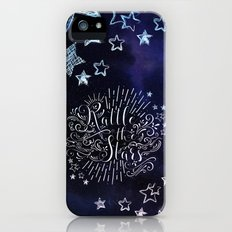 Rattle The Stars - Blue iPhone (5, 5s) Slim Case