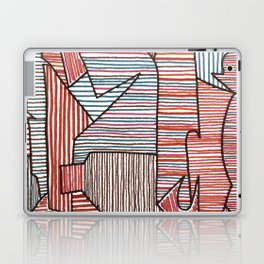 Bridget Riley Laptop & iPad Skin