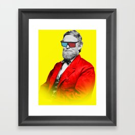 This is the new retro Framed Art Print