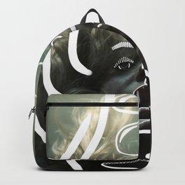Sinking beneath Backpack