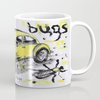 bugs Mugs featuring bugs by sladja
