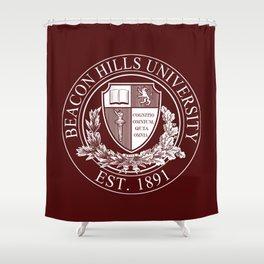 Beacon Hills University Shower Curtain
