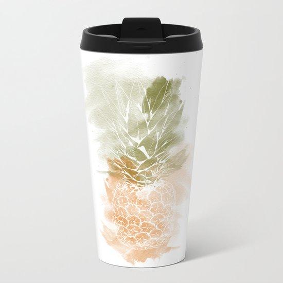 Pineapple vibes Metal Travel Mug