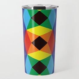 Rainbow Octagons Travel Mug