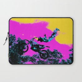 Letting Go - Freestyle Motocross Stunt Laptop Sleeve