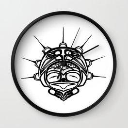 Ink Frog Spirit Wall Clock