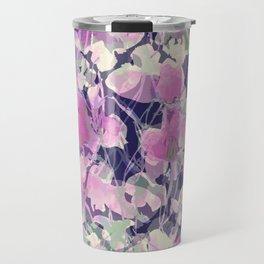 Pink Water Blossoms Travel Mug