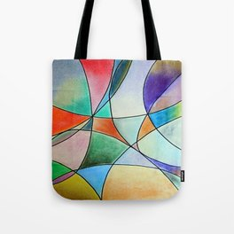 Pastel Abstract 1 Tote Bag