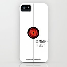 Is anyone there? iPhone Case