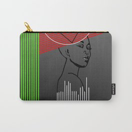 lines and potrait Carry-All Pouch