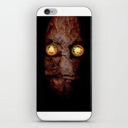 Copperhead mask_094 iPhone Skin