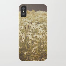 Spinning daisies iPhone Case