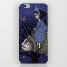 Kingfisher's Invitation to Tea (2) iPhone & iPod Skin