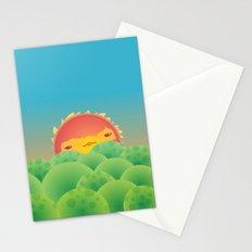 Sunlit Hills Stationery Cards