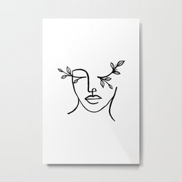 Beauty is in the eyes of the beholder Metal Print