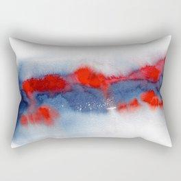Burning Horizon Rectangular Pillow