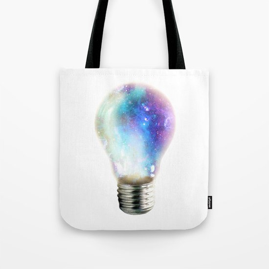 Light up your galaxy Tote Bag
