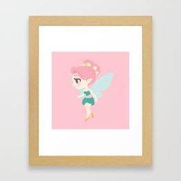 Cute Fairy Framed Art Print
