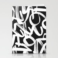 numbers Stationery Cards featuring Numbers by Rinomonsta