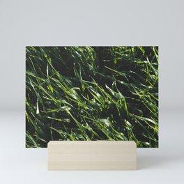 Green Wheat Field Mini Art Print
