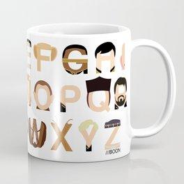 Star Trek Alphabet Coffee Mug