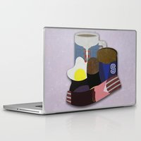 the breakfast club Laptop & iPad Skins featuring Breakfast Club by Matt Humphrey