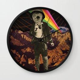 Galactic Cowboy Wall Clock