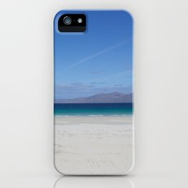 Beach 3 Lewis and Harris 1 iPhone Case