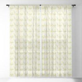 Mini Impressions: DAFFODIL STUDY 4 Sheer Curtain