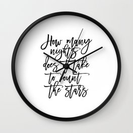 song lyrics quote,Song Lyrics,Quote Prints,Printable Art,Love Sign,Gift For Her,Inspirational Quote Wall Clock