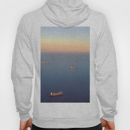 Boats on the Med Hoody