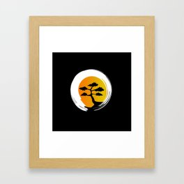 Zen Tree Framed Art Print