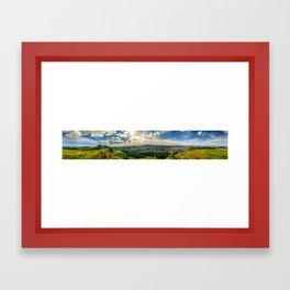 The Crags Framed Art Print