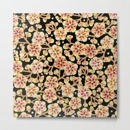 Candy Apple Blossom Metal Print