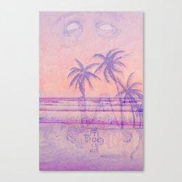 Surf God Canvas Print