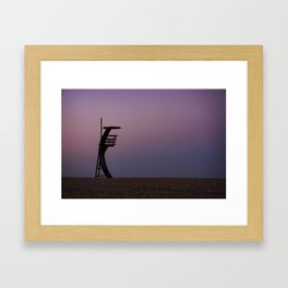 Nothing to watch Framed Art Print
