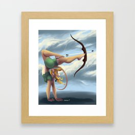 Aim True Framed Art Print