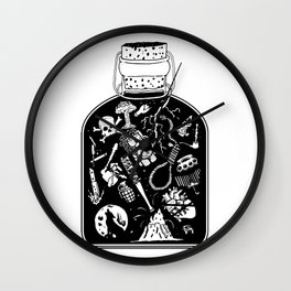Bottled Emotion Wall Clock