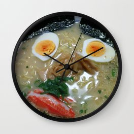Mr. Ramen Wall Clock
