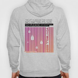 You Will Rise by Abbie Vitale Hoody