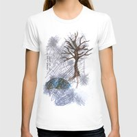 climbing T-shirts featuring Tree Climbing by Ericaphant