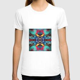 Bright southwestern pattern design T-shirt