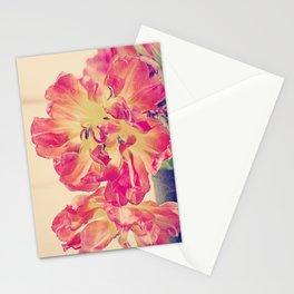 Parrot Tulips Botanical Still Life Painterly Stationery Cards