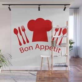 Bon Appetit! Wall Mural