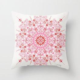 Moroccan Mandala – Valentine Palette Throw Pillow
