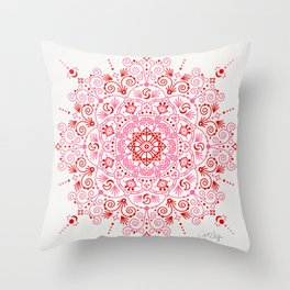 Moroccan Mandala – Valentine Palette Throw Pillow