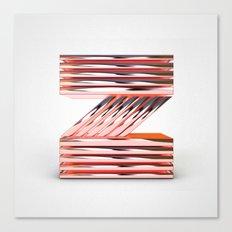 The Letter Z Canvas Print